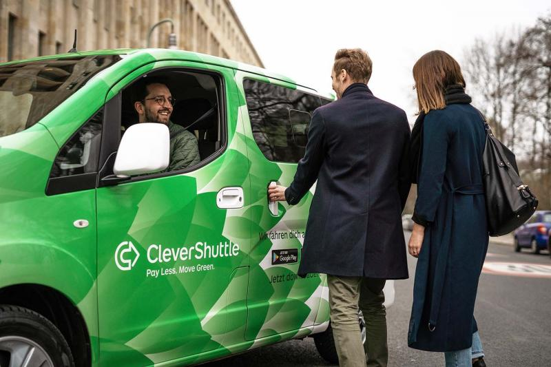 CleverShuttle dispatches using IVU.suite
