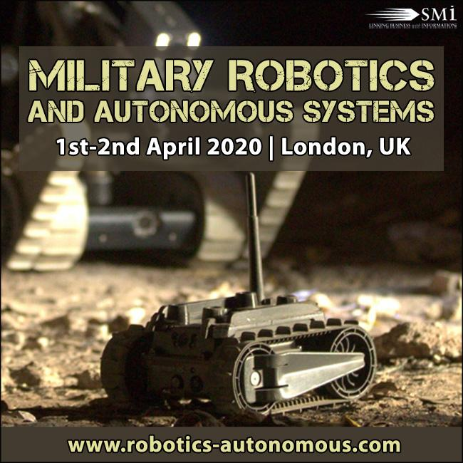Military Robotics and Autonomous Systems 2020 Conference
