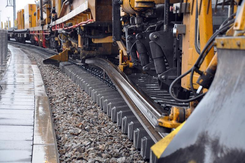 Track Renewal and Track Laying Machine Market: Competitive