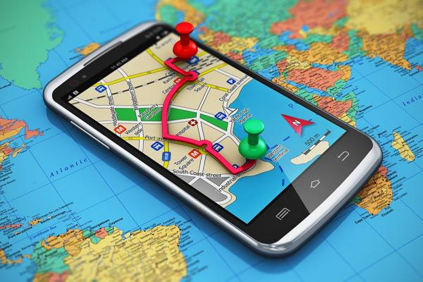 Mobile Phone Map