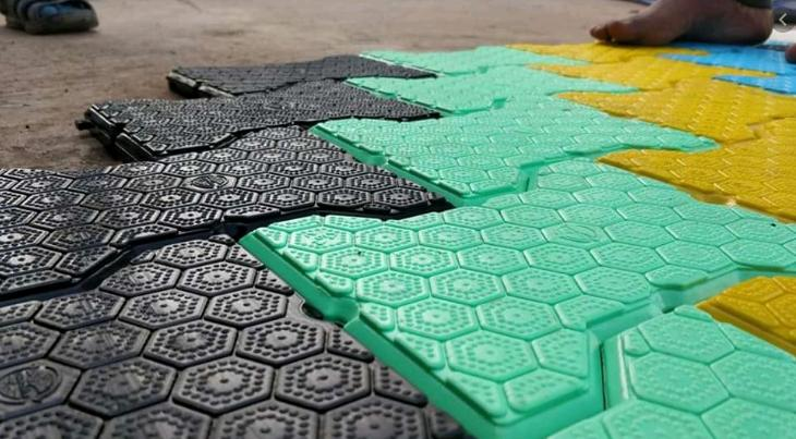 Recycled Plastic Tiles Market Size