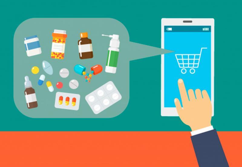 Marché de la pharmacie en ligne
