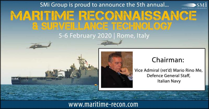 Vice Admiral (ret'd) Mario Rino Me: Chairman for Maritime Reconnaissance and Surveillance Technology 2020