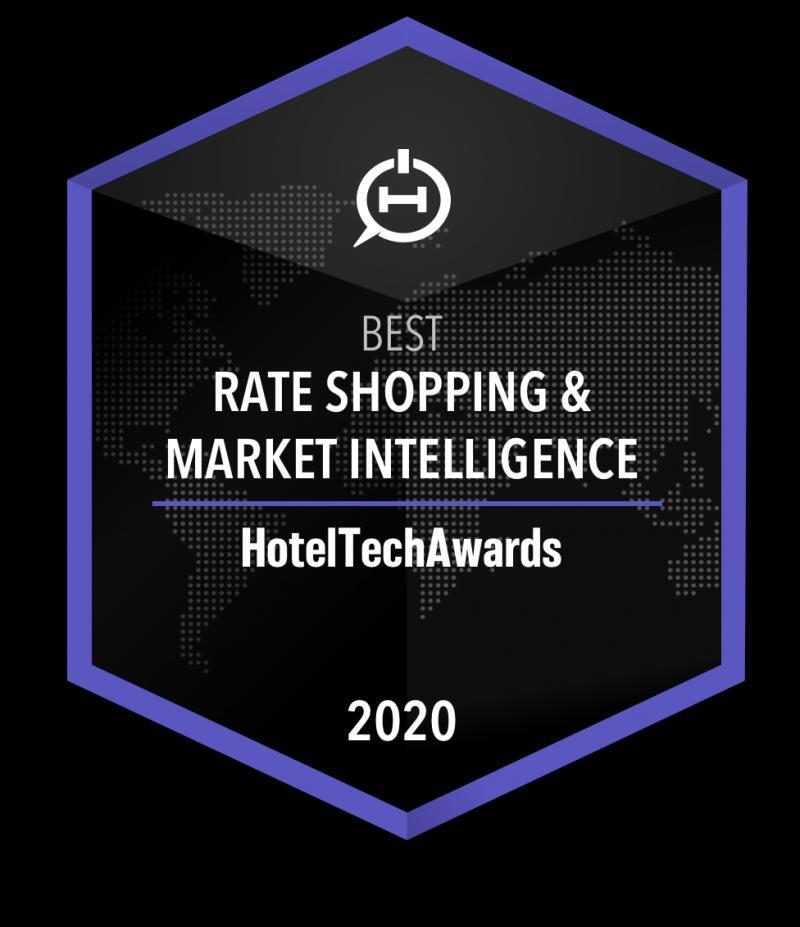 OTA Insight Named Best Rate Shopping & Market Intelligence