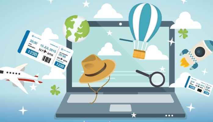 Marché du voyage en ligne