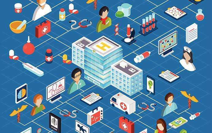 Accent sur la gestion de la chaîne d'approvisionnement des soins de santé Changement de marché