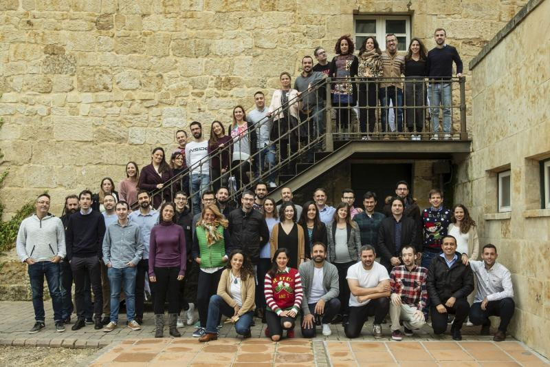 Beonprice team at its Salamanca headquarters