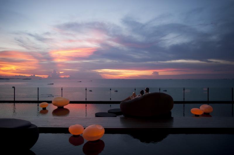 Private island at Drift, Hilton Pattaya