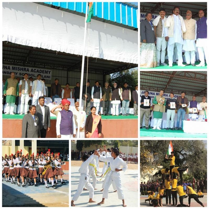 Events Galore at JMA Pilani 71st Republic Day Celebrations