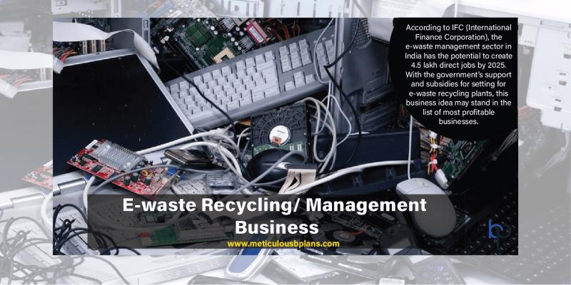 E-Waste Recycling/ Management Business
