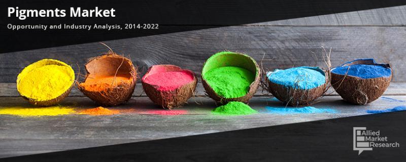 Marché des pigments