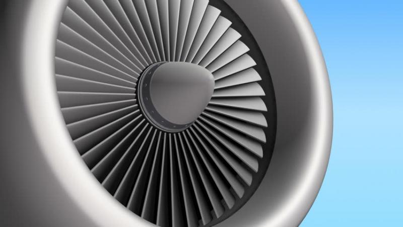 Marché des pales de moteurs d'avion