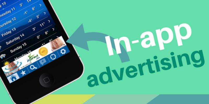 Marché de la publicité dans les applications
