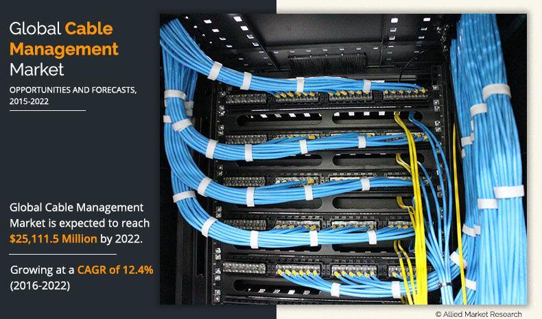Marché de la gestion des câbles