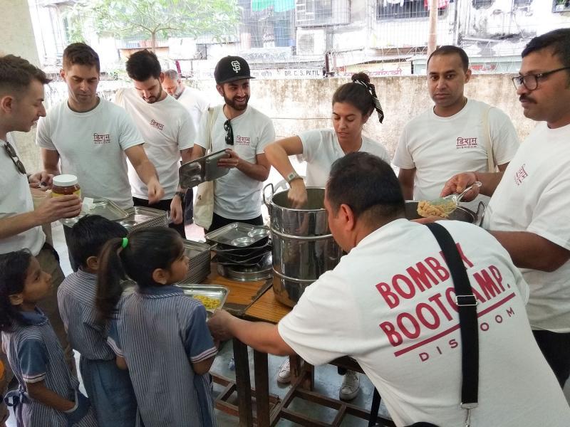 Dishoom visited Akshaya Patra beneficiary schools
