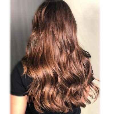 Marché de la couleur des cheveux