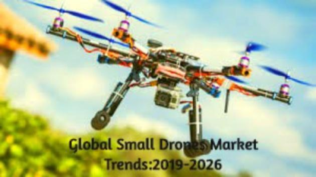 Global Small Drones Market Overview:2019-2026