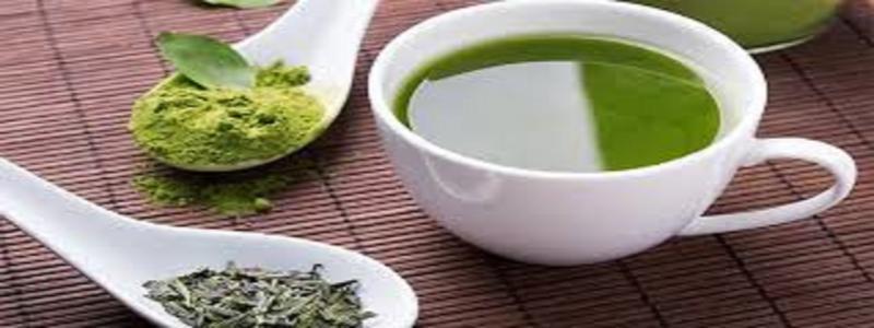 Marché du thé vert