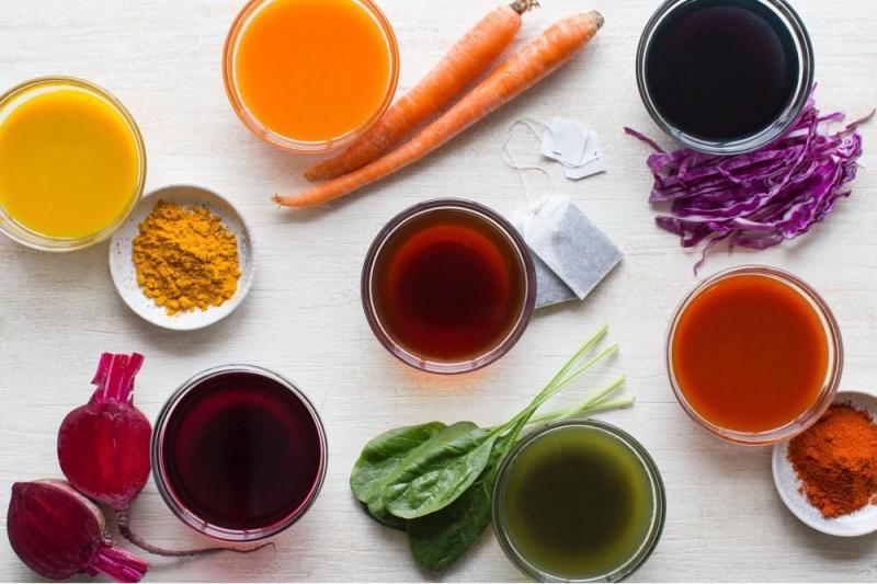 Ingrédients de colorant alimentaire