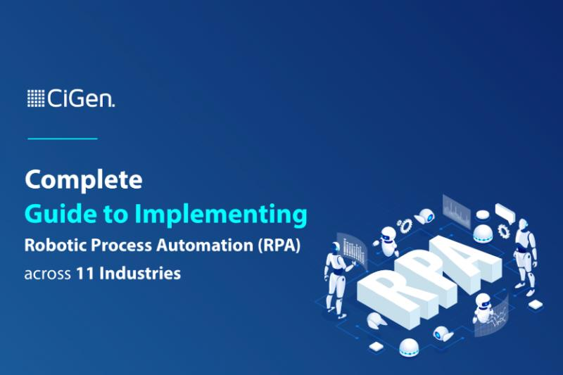CiGen Releases Free eBook: Complete Guide to Implementing RPA