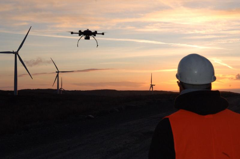 Wind Turbine Inspection Drones