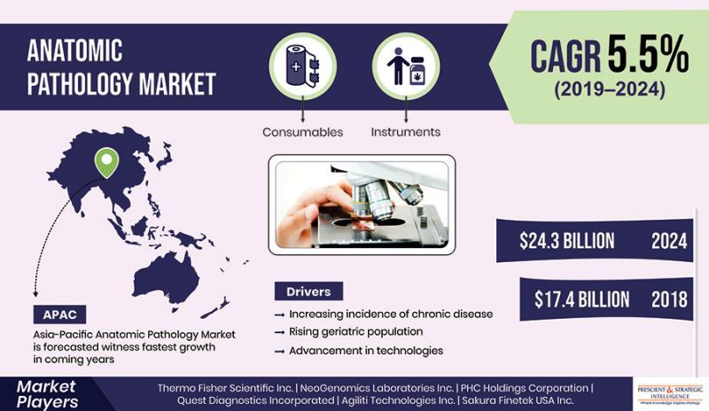 Rising Geriatric Population to Take Anatomic Pathology Market