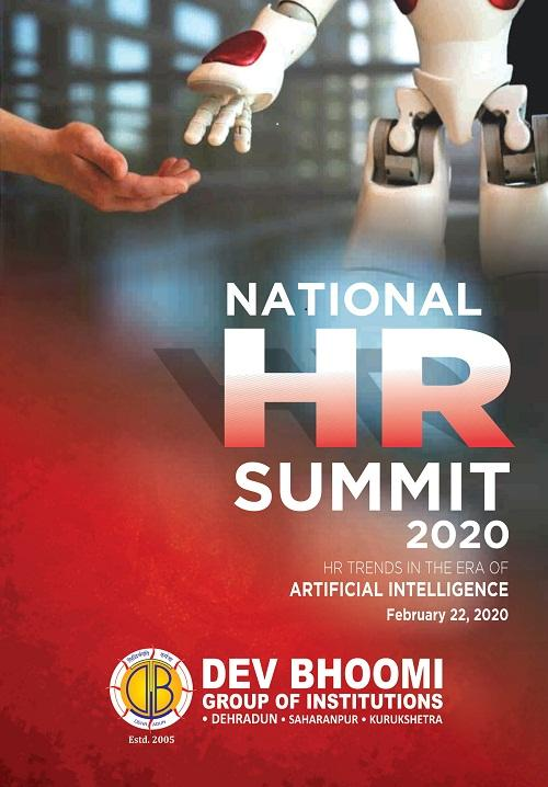 National HR Summit 2020 at Dev Bhoomi Group of Institutions