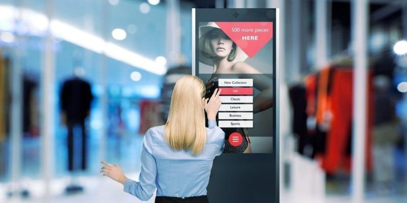 Retail Touch Screen Display