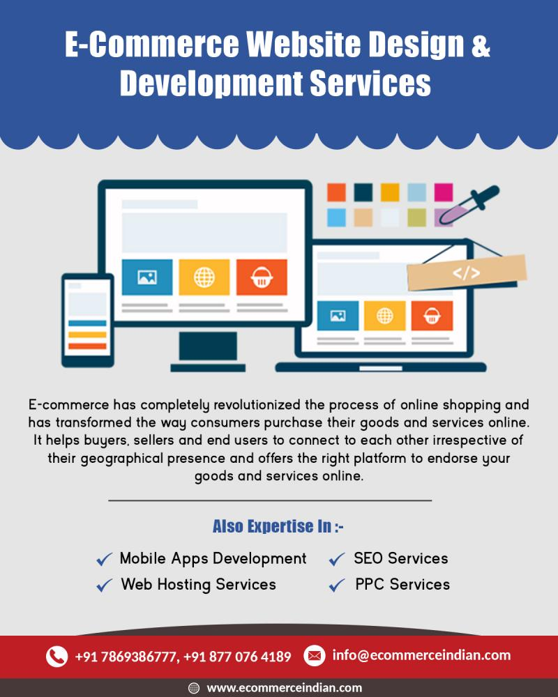 E Commerce Web Design & Development Cost in INDIA