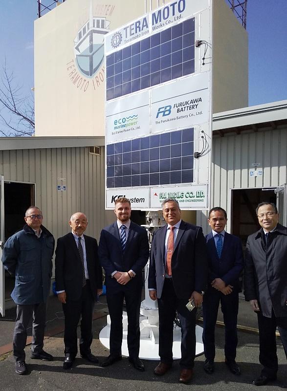 EnergySail at Onomichi MTTC in Japan