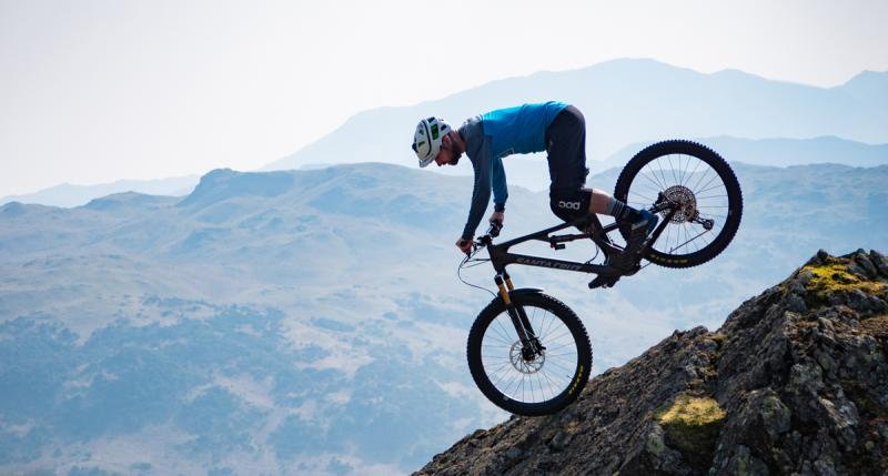Rockstop being tested on the Lake District fells - image courtesy of Ben Gerrish