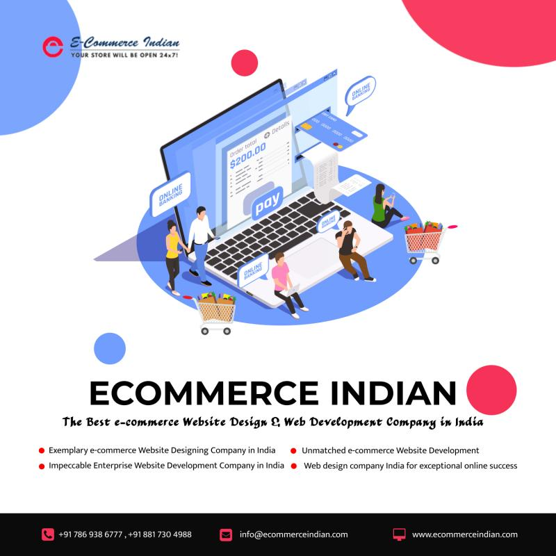 Grow Your Business With E Commerce Website Design Services India