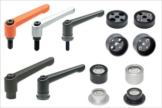 Standard components from Elesa for audio visual equpment