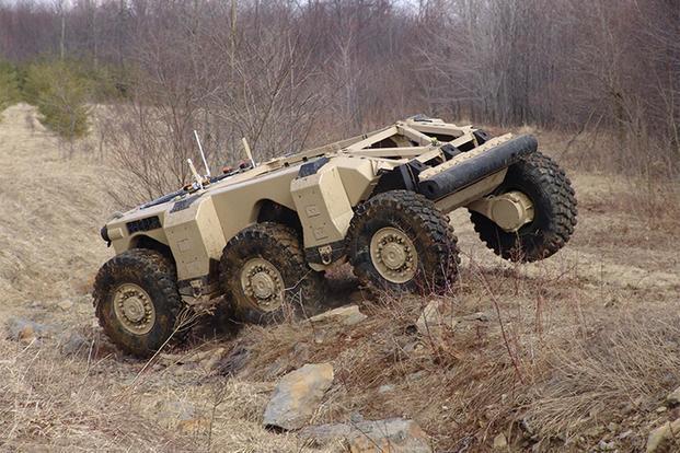 Autonomous Military Vehicles Market