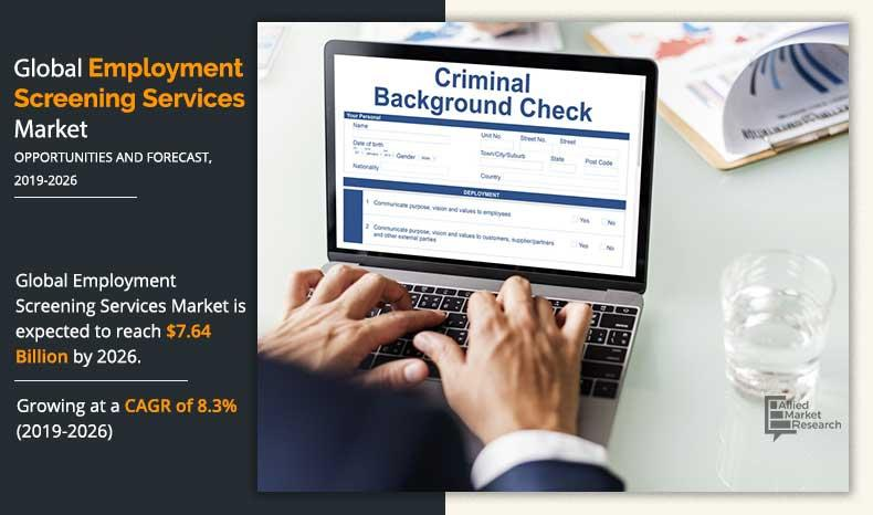 Employment Screening Services Market to Hit $7.64 Bn, Globally,
