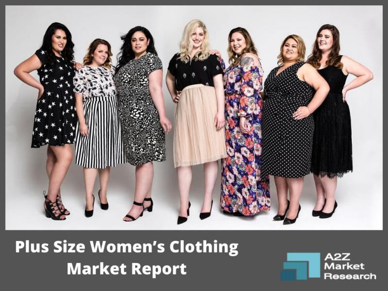 Massive growth in Plus Size Women's Clothing Market during