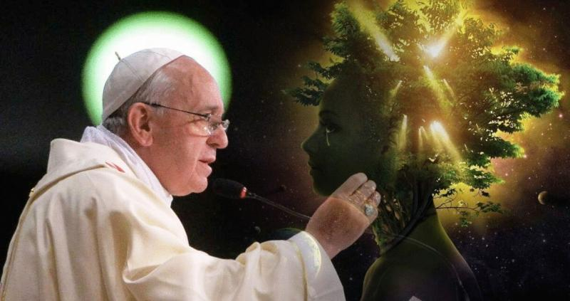 Pope Francis talks about the current global crisis.