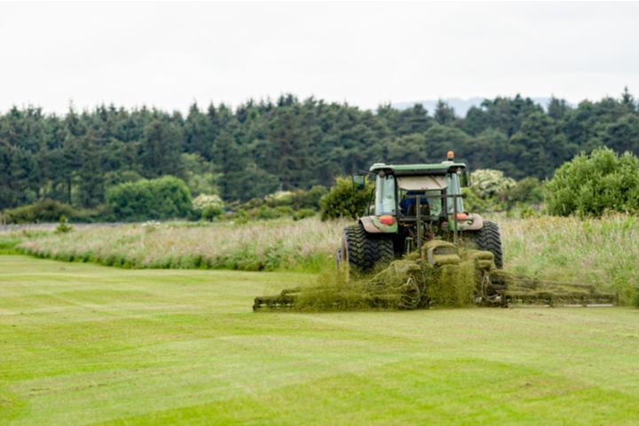 Automated Turf Harvester
