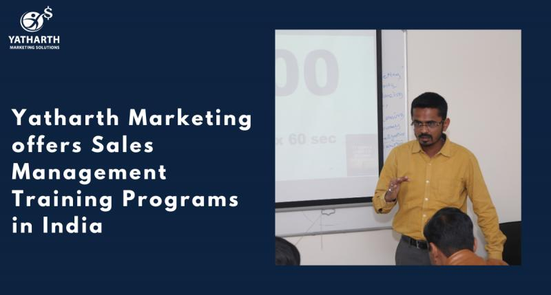 Yatharth Marketing offers Sales Management Training Programs