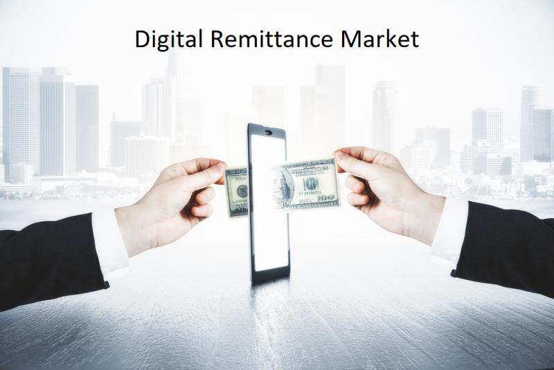 North America  Digital Remittance Revenue by Countries