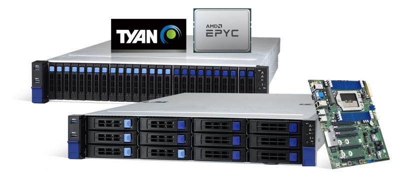 TYAN Enhanced Performance on Servers and Motherboards