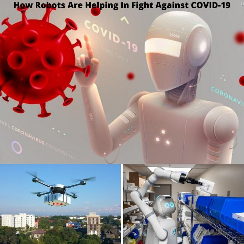 Smart Robot:Helping In Fight Against COVID-19