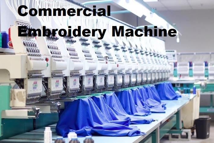 Commercial Embroidery Machine Market