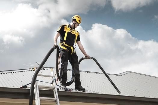 Gutter and Roof Vacuum Cleaners