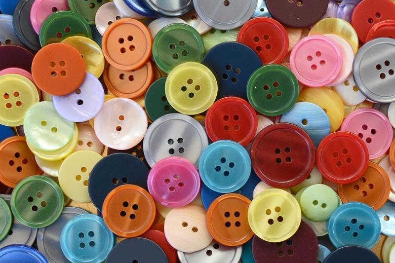 Buttons for Clothing Market