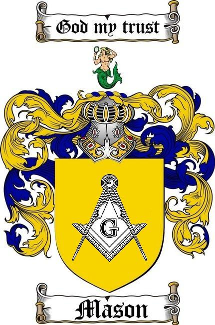 The Lordship of Masons shield and emblem.