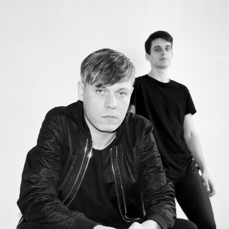 Electronic music duo Artfcl by Pijus Veberis.