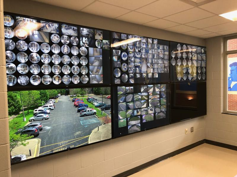 Connectivity for Morgan Country School District's video surveillance is enabled by Telco Systems' E-Rate solution.
