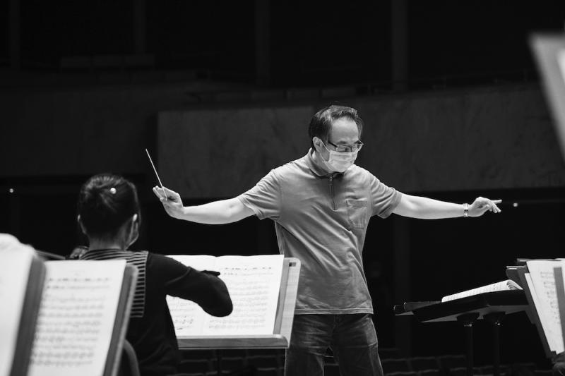 Taiwan's National Symphony Orchestra Music Director Shao-Chia Lu