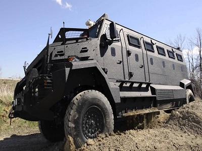 Marché des véhicules blindés